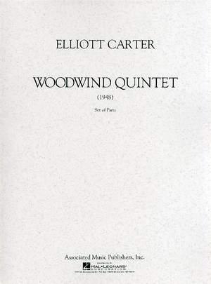 Elliott Carter: Woodwind Quintet Product Image
