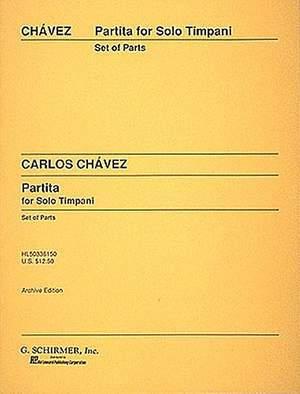 Carlos Chàvez: Partita for Solo Timpani