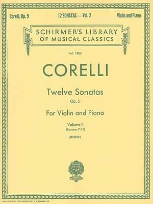 Arcangelo Corelli: Twelve Sonatas, Op. 5 - Volume 2