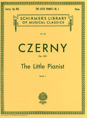 Carl Czerny: The Little Pianist Op.823 Book 1