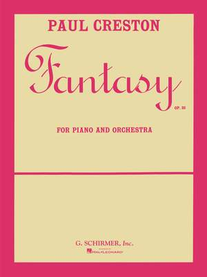 Paul Creston: Fantasy, Op. 23