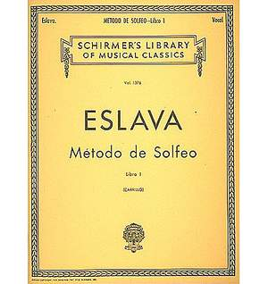 Hilarion Eslava: Método de Solfeo - Book I
