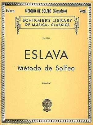 Hilarion Eslava: Método de Solfeo - Complete