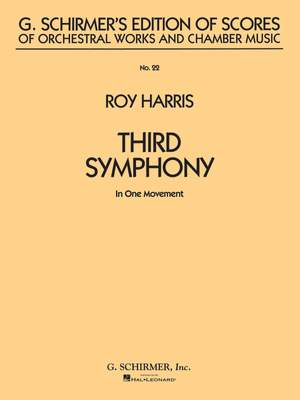 Roy Harris: Symphony No. 3 (in 1 movement)