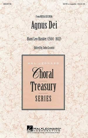 Hans Leo Hassler: Agnus Dei from Missa Secunda