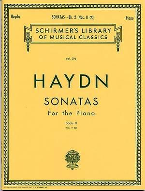 Franz Joseph Haydn: Twenty Piano Sonatas Book 2