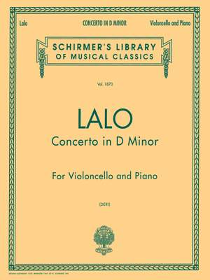 Edouard Lalo: Concerto in D Minor