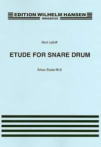 Bent Lylloff: Arhus Etude No. 9