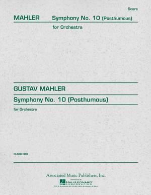 Mahler, G: Symphony No.10
