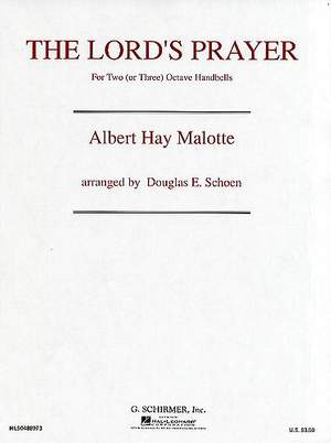 Albert Hay Malotte: The Lord's Prayer (High Voice/Organ)