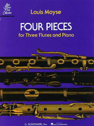 Louis Moyse: Four Pieces for Three Flutes and Piano