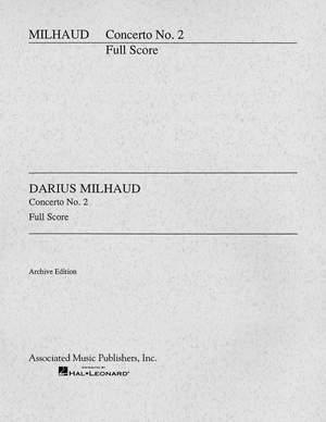 Darius Milhaud: Cello Concerto No.2
