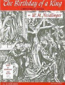 William Henry Neidlinger: The Birthday Of A King
