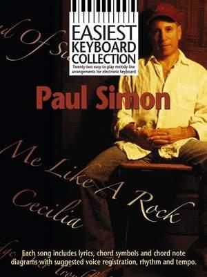 Paul Simon: Easiest Keyboard Collection: Paul Simon