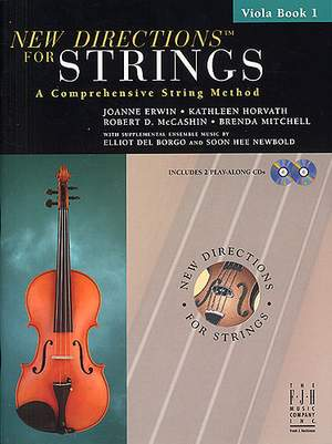 Joanne Erwin_Kathleen Horvath: New Directions for Strings - Viola Bk 1