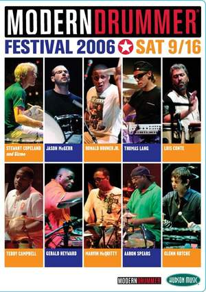 Modern Drummer Festival 2006 - Saturday 9/16 Product Image