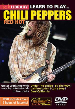 Learn To Play Red Hot Chili Peppers