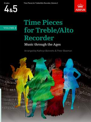 Kathryn Bennetts: Time Pieces for Treble/Alto Recorder, Volume 2