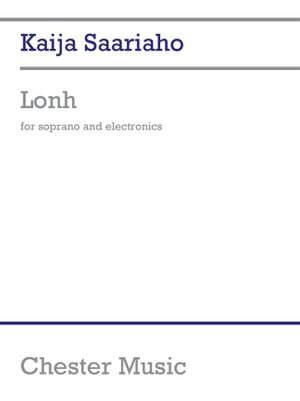 Kaija Saariaho: Lonh For Soprano And Electronics