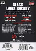 Black Label Society Product Image