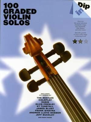 Dip In 100 Graded Violin Solos