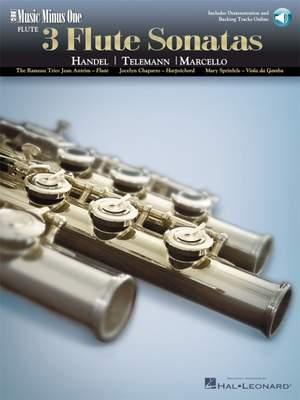 Georg Friedrich Händel_Georg Philipp Telemann_Marcello: 3 Flute Sonatas Product Image