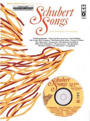 Music Minus One - Franz Schubert: German Lieder  (Low Voice) Vol.II