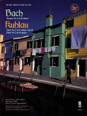 Bach_Kuhlau: Sonata No. 1 in B minor - Two Duets