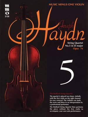 Franz Joseph Haydn: String Quartet No. 5 in D Major, Op. 76