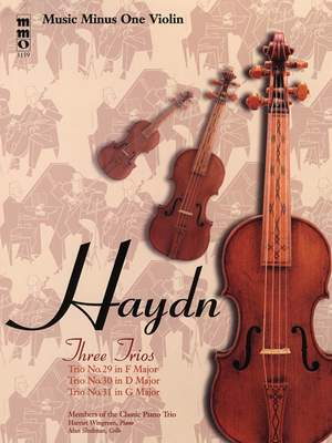 Franz Joseph Haydn: Three Piano Trios: No. 29 in F Major
