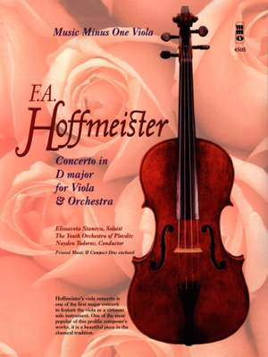 Music Minus One - Franz Anton Hoffmeister: Concerto For Viola And Orchestra In D