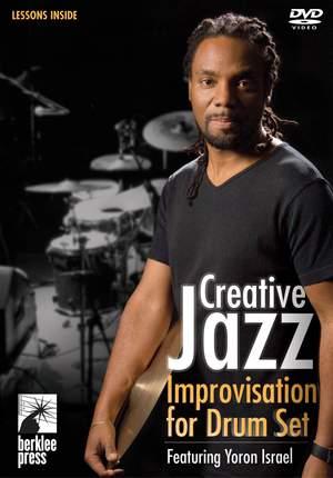 Creative Jazz Improvisation for Drum Set Product Image