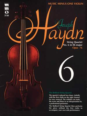 Franz Joseph Haydn: String Quartet No. 6 in E-flat Major, Op. 76