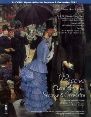 Giacomo Puccini: Arias for Soprano and Orchestra - Vol. I