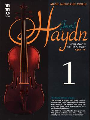 Franz Joseph Haydn: String Quartet No. 1 in G Major, Op. 76