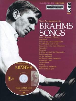 Johannes Brahms: Brahms Songs - Vocal Accompaniments