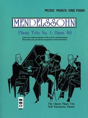 Felix Mendelssohn Bartholdy: Piano Trio No. 1 in D Major, Op. 49 Product Image
