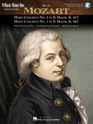Wolfgang Amadeus Mozart: Horn Concerto No. 2 & Horn Concerto No. 3