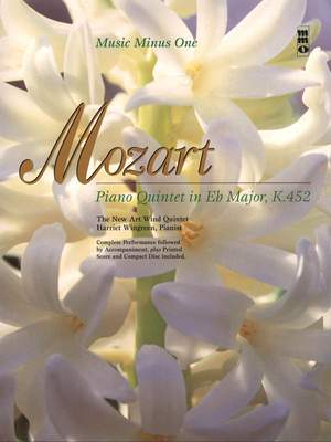 Music Minus One - W.A. Mozart: Quintet For Piano And Winds In E-Flat KV452