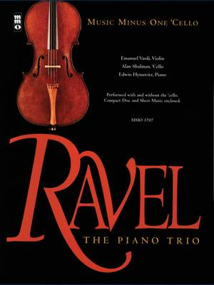 Maurice Ravel: Piano Trio In A Minor Product Image