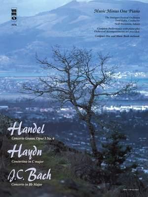 Georg Friedrich Händel_Franz Joseph Haydn_J.C. Bach: Concerto Grosso, Op. 3, No. 6 Product Image