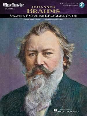 Johannes Brahms: Sonatas in F Minor and E-flat, Op. 120