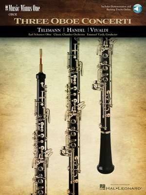 Georg Philipp Telemann_Georg Friedrich Händel_Antonio Vivaldi: Three Oboe Concerti