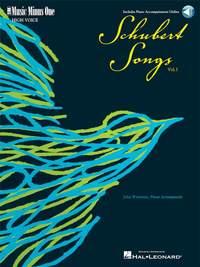 Schubert: German Lieder - High Voice, Volume 1