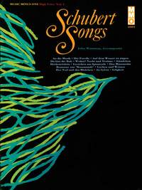 Franz Schubert: German Lieder - High Voice, Vol. I