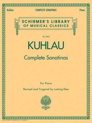 Friedrich Kuhlau: Kuhlau - Complete Sonatinas for Piano
