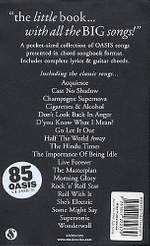 The Little Black Songbook: Oasis Product Image