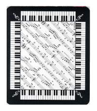 Mouse Mat: Score And Keyboard Design