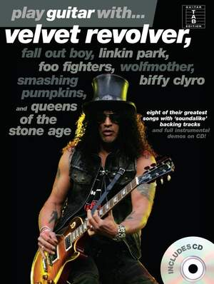 Play Guitar With... Velvet Revolver, Fall Out Boy, Linkin Park etc (Book And CD) Product Image