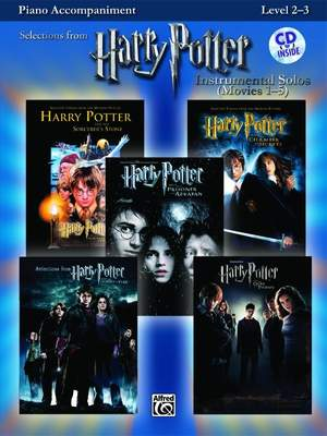 Harry Potter™ Instrumental Solos (Movies 1-5)